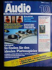 AUDIO 10/83,SONY MTL 40,SONY CDP 5000,NAKAMICHI TD 1200,PA 300,JECKLIN TRANSDYN,