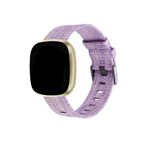 Durable Replacement Canvas Band Strap Wristband For Fitbit Versa 3/Sense Watch