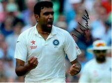 """Ravi Ashwin - Indian Test Cricket -Personally Signed 8x6"""" Full Colour Photograph"""