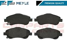 FOR TOYOTA AVENSIS T25 2003-2008 FRONT AXLE MEYLE GERMANY BRAKE PAD PADS SET