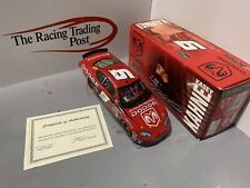 2005 kasey kahne #9 dodge dealers 1/24 Autographed In Red Paint Pen