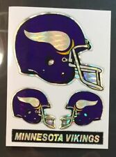 Minnesota Vikings NFL Color Logo Sports Decal Sticker-FREE SHIPPING