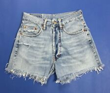 Unlimited jeans shorts donna hot w31 tg 45 strappati destroyed sexy usato T3395