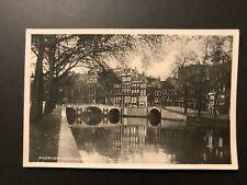 "Old  RPPC ""AMSTERDAM""Real Photo Postcard"
