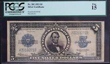 1923 $5 Silver Certificate Fr. 282 PCGS Fine 15