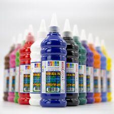 ACRYLFARBE 500 ml. Günstige Hochwertige Acrylfarben-Set Neon Pastell Kreidefarbe