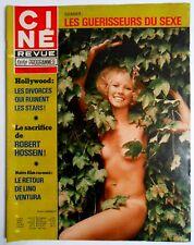 ►CINE REVUE 17/1978-FABIO TESTI-SONNY & CHER-DANY ROBIN-LINO VENTURA-LIZ TAYLOR