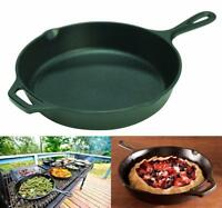 Pre-Seasoned Cast Iron Skillet Non-Stick Pan 10.25-inch Made in the USA