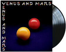 Wings (paul MC Cartney's Group) Venus and Mars LP Vinyl 13 Track 180 Gram AUDI