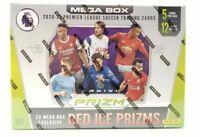 2020-21 Panini Prizm English Premier League EPL Soccer Mega Box Sealed Red Ice