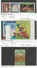 Antigua, Postage Stamp, #524-6, 568-70, 1081a Mint NH, Disney Flamingo, JFZ