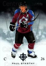 2010-11 UD Ultimate Collection #17 Paul Stastny