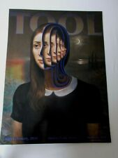 TOOL Concert Poster, 2/18/20, Qudos Bank Arena, Sydney, AUS, 224/500, embossed