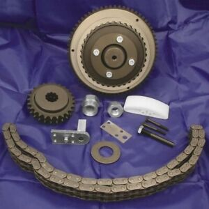 Primary Chain Drive Kit with Ball-Bearing Lockup Clutch Belt Drives  CDBCS-1-90