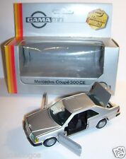 RARE GAMA MERCEDES BENZ 300 CE GRIS METAL REF 1168 1/43 IN BOX