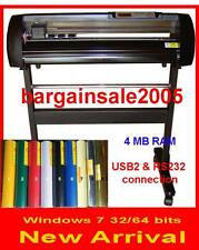 Rabbit HX-720 VINYL CUTTER PLOTTER 240V Vinyl+Transfer WINDOW 10/8/7