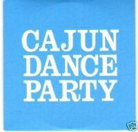 (G898) Cajun Dance Party, The Race - DJ CD