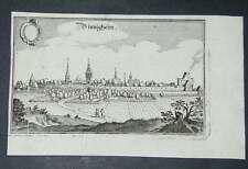 Bönnigheim Württemberg Original Kupferstich Merian 1650