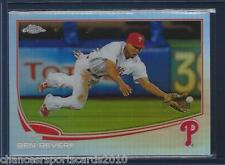 2013 TOPPS CHROME BEN REVERE REFRACTOR #90 PHILADELPHIA PHILLIES