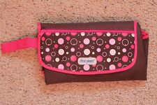 The First Years Baby Girl Diapering Changing Pad Kit Brown/Pink