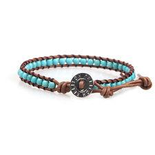 Jewelry Classic Leather Chain Single Wrap Bracelet Handmade Pulseras Custom