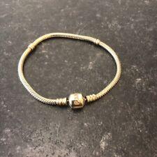 Genuine pandora moments bracelet Yellow Gold 14k - 19cm