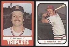 1980 1981 Ed Putman Cards - Los Angeles, Covina CA, USC Southern Cal, A582