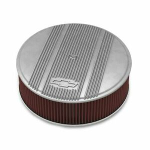 Holley 120-171 Holley Vintage Air Cleaner 14 in x 4 in. Finned NEW