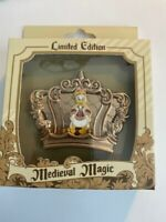 DLR Medieval Magic Crown Of Donald Duck Disney Pin LE (B)