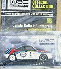 LANCIA DELTA INTEGRALE  #4 AURIOL-OCCELLI WRC RALLY 1:24 V 32 HACHETTE **