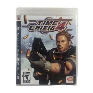Time Crisis 4 (Sony PlayStation 3, 2007) Game w/Manual No Gun