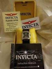 Invicta women's  model 2314 Stainless Steel Watch new,never worn,vintage,