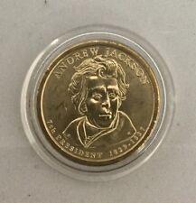 2008 Andrew Jackson Dollar p mint mark uncirculated - USA