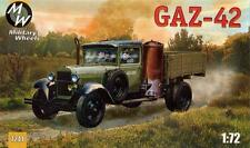 1/72 Gaz-42 Soviet Truck Military Wheels 7241 Models kits