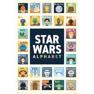 STAR WARS - ALPHABET POSTER 24x36 - 3556