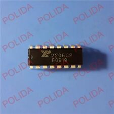 10pcs Monolithic Function Generator Ic Exar Dip 16 Xr2206cp 2206cp