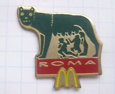 M / ROM / ROMA / ROMOLUS & REMUS    ............. Mc Donald´s-Pin (137d)
