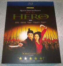 Jet Li : Hero (Blu-ray, 2009, Canada) w/ Slipcover NEW