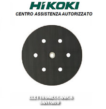 PLATORELLO FORATO VELCRO ø 150 LEVIGATRICE ROTO ORBITALE SV15YC HITACHI HIKOKI