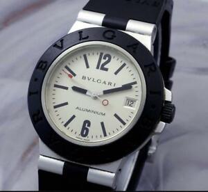 Mens  BVLGARI Chronograph AC38TA   Aluminum & Rubber  Automatic