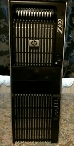 HP Z600 - 2 x Xeon X5570 2.93GHZ 12GB RAM 500GB hdd 2 x NVS295 graphics W7 Pro