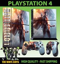 PS4 Skin Battlefield 1 War Jeux Shooter Autocollant + 2 Pad Vinyle Stood