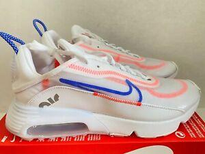 Nike Air Max 2090 Women's Sz 12 / Men's Sz 10.5 White/Flash Crimson CT1290 100