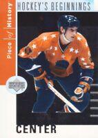 2002-03 UD Piece of History Hockey Beginnings #HB-8 Wayne Gretzky All-Star
