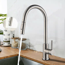 Ausziehbar Küchenarmatur mit 360° Spültischarmatur Wasserhahn Küche Edelstahl