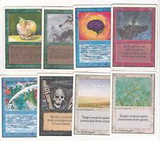 Lot x8 cartes MAGIC MTG UNLIMITED Smoke ... English 1993 POOR-NM OLD SCHOOL
