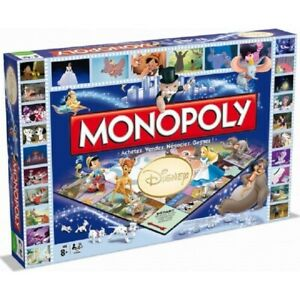 MONOPOLY WINNING MOVES DISNEY CLASSIC -- VERSION FRANCAISE -- NEUF