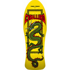 Powell Peralta Skateboard Deck Caballero Chinese Dragon Yellow Cab Old School