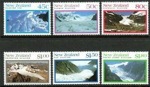MINT 1992 NEW ZEALAND NZ GLACIERS STAMP SET