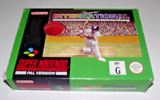 Super International Cricket Super Nintendo SNES Boxed PAL *Complete* #2